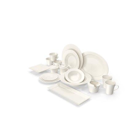 White Pearl Dinnerware