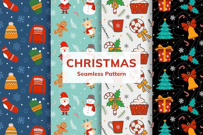 Thumbnail for Christmas Seamless Pattern