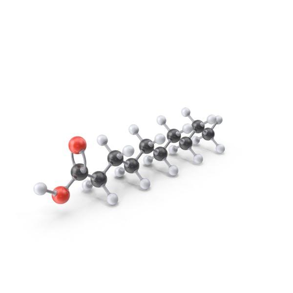 Thumbnail for Decanoic Acid Molecule