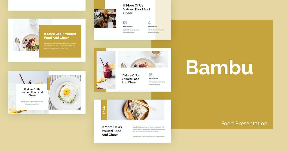 Download Bambu - Food Keynote Presentation Template by alexacrib