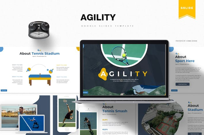 Thumbnail for Agility | Google Slides Template