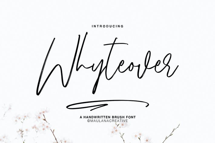 Thumbnail for Whyteover Typeface