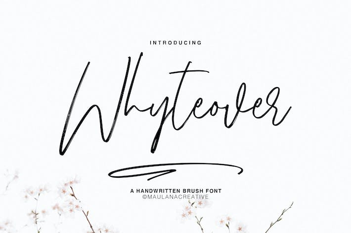 Cover Image For Whyteover Typeface