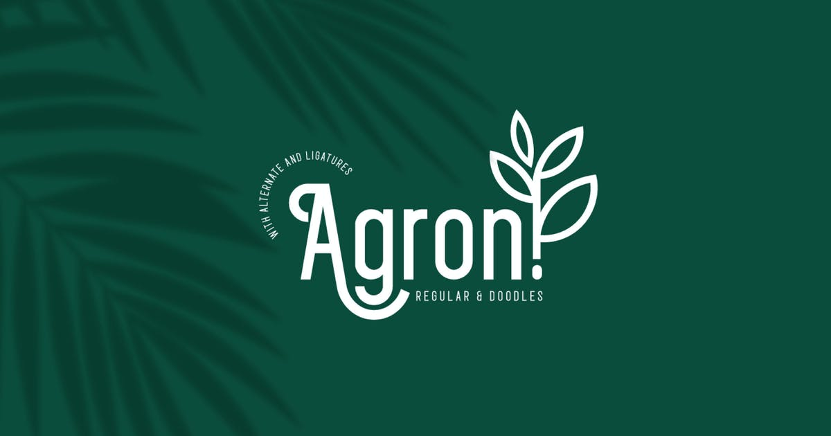 Download Agron by linecreative