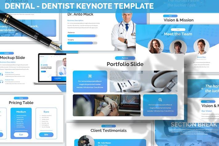 Thumbnail for Dental - Dentist Keynote Template