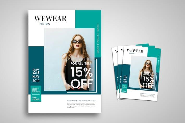 Thumbnail for Female Fashion Promo Flyer