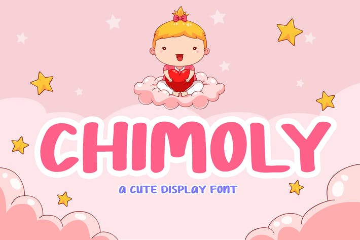 Thumbnail for Chimoly Cute Display Font