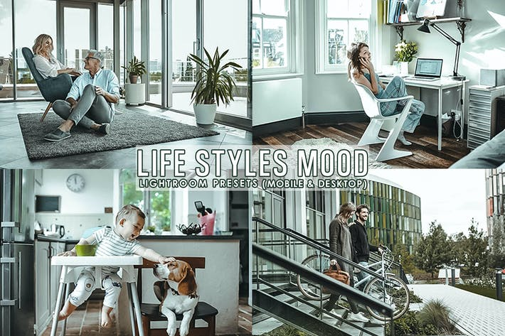 Thumbnail for Life Styles Presets For Mobile and Desktop