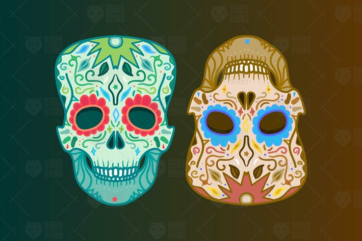 Thumbnail for Mexican Skulls