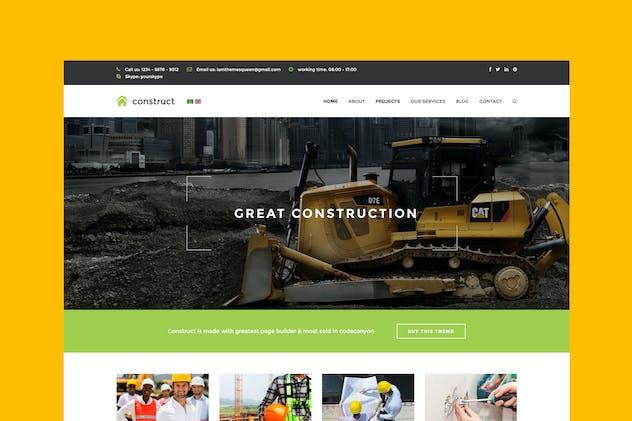 Constructo - Construction Joomla Template