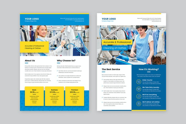 Thumbnail for Flyer – Laundry Service