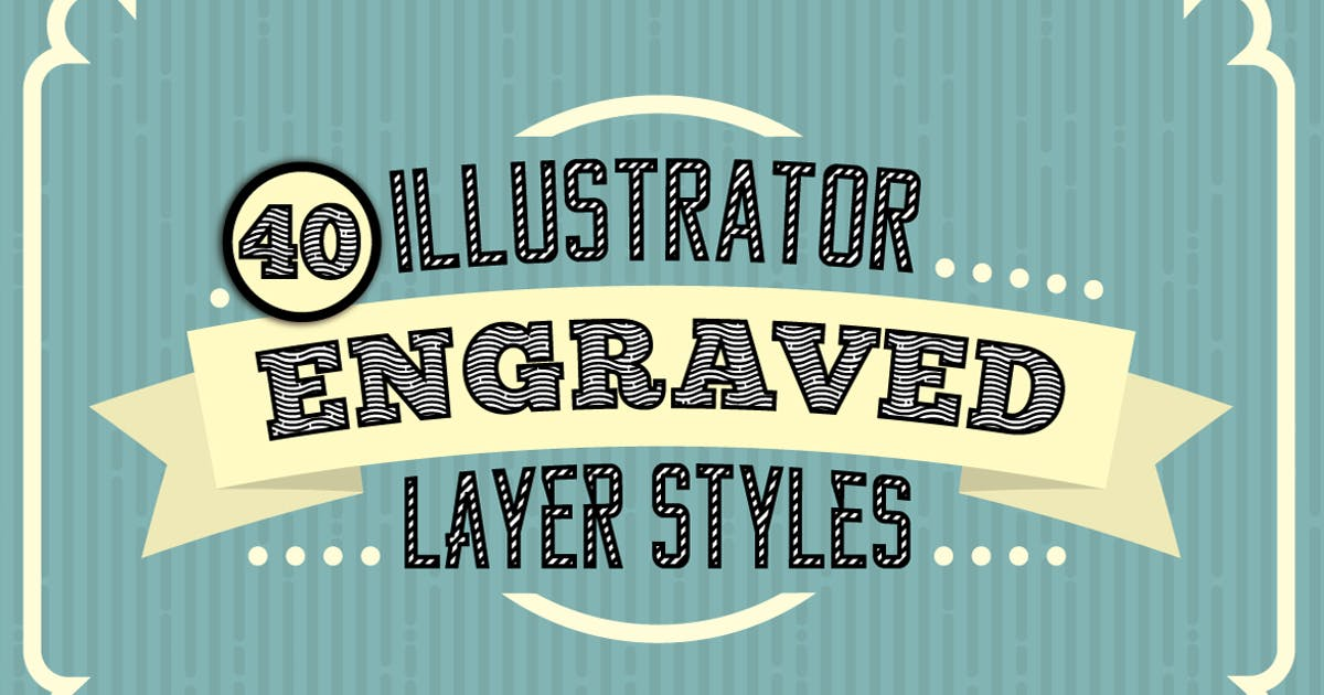 Download Engraved Vector Text Styles by JRChild