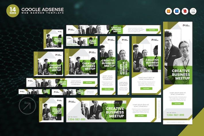 Thumbnail for 14 Creative Business Google Adsense Web Banner