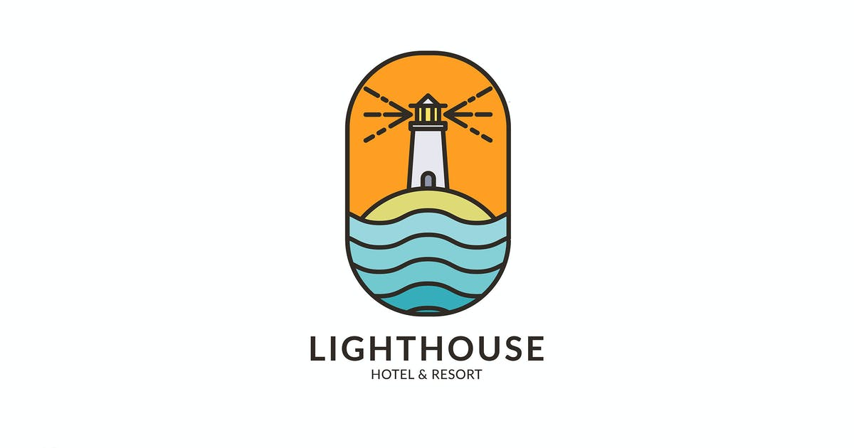 Download Lighthouse Hotel & Resort - Logo Template RB by Rometheme