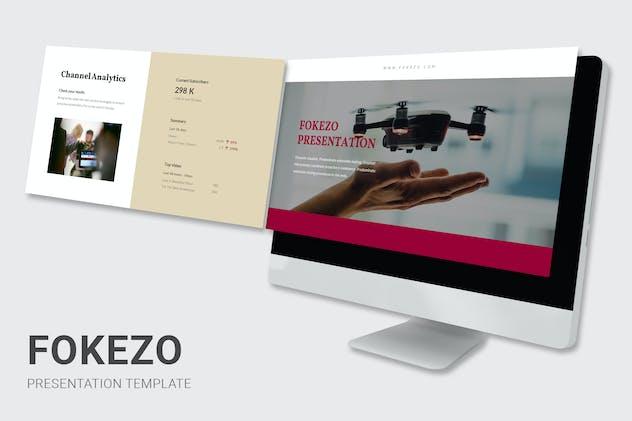 Fokezo - Video Content Creator Google Slides
