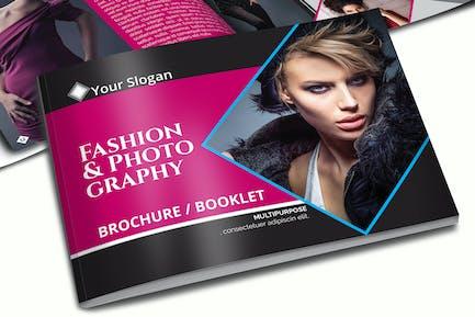 A5 Fashion Brochure - Booklet Template Vol 1