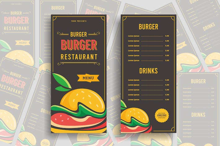 Thumbnail for Restaurant Menu - Widtemp