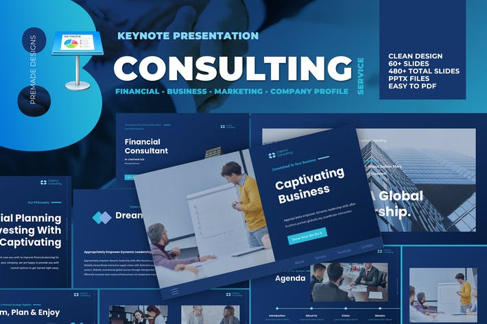 Thumbnail for Business Consulting Keynote Template