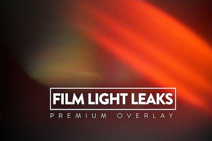 Superposición de fugas de luz de película 110