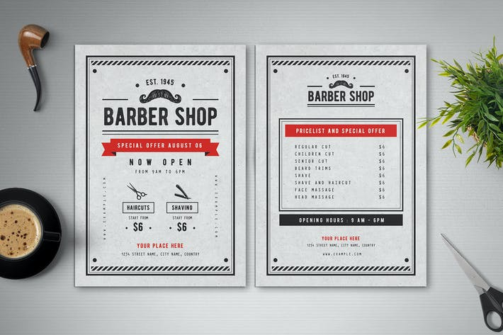 Thumbnail for Barber Shop Flyer
