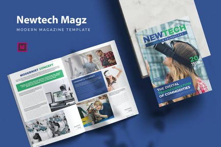 Newtech Magz - Magazine