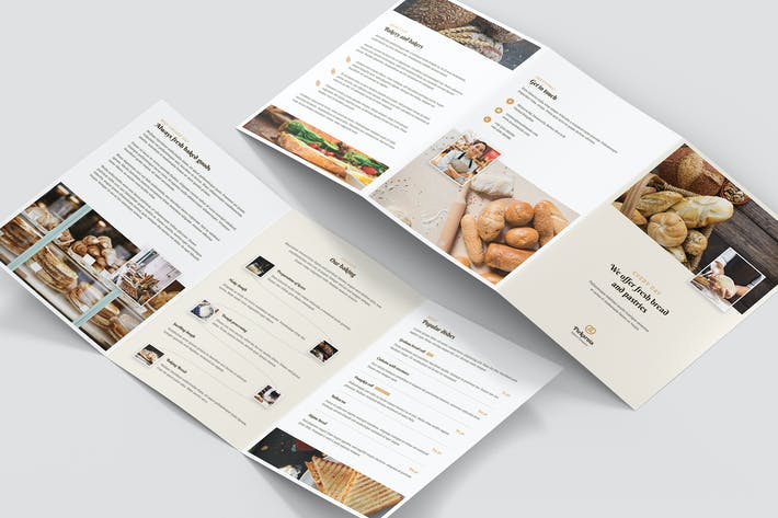 Thumbnail for Brochure – Bakery Tri-Fold A5
