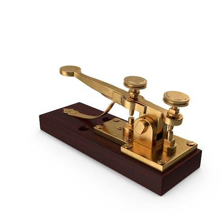 Antiker Telegraphenschlüssel