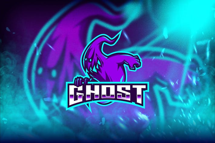 Thumbnail for Ghost Esport Logo Template