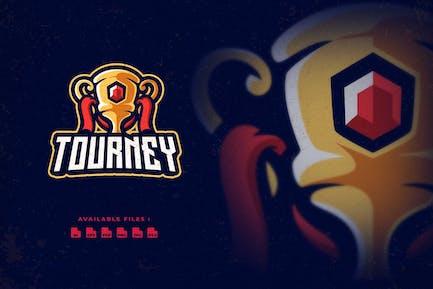 Trophée Tourney Sport et Logo Esport