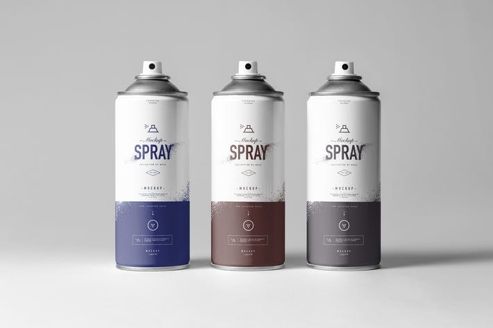 Thumbnail for Spray Can Mock-up
