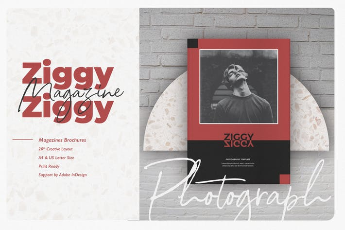 Thumbnail for Ziggy Photography Template