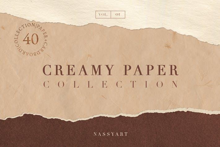 Grunge Creamy Paper Textures