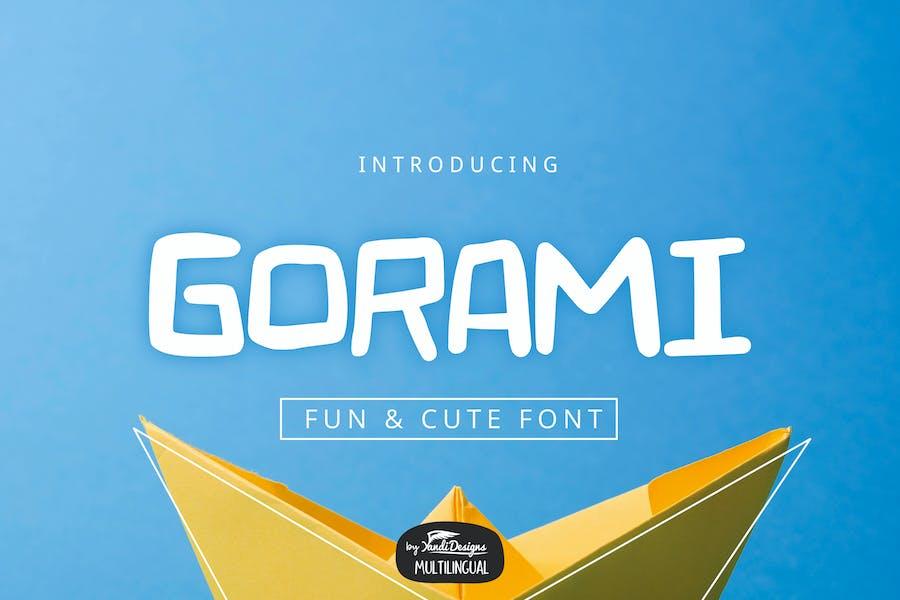 Gorami Font