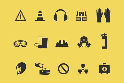 15 Health and Safety Icons