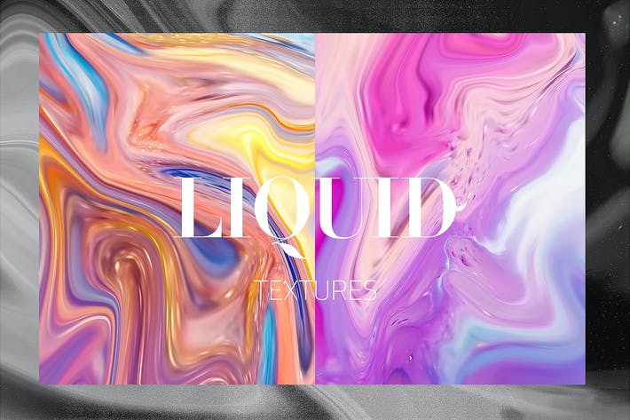 Cover Image For 13 Liquid Textures
