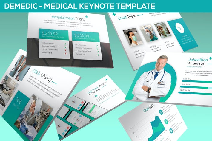 Thumbnail for Demedic - Medical Keynote Template