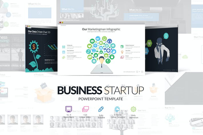Thumbnail for Business Startup Powerpoint Presentation
