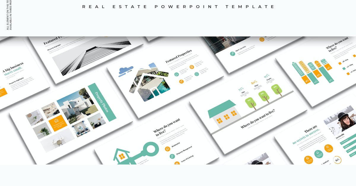 Download Realtors : Real Estate PowerPoint Template by graphix_shiv