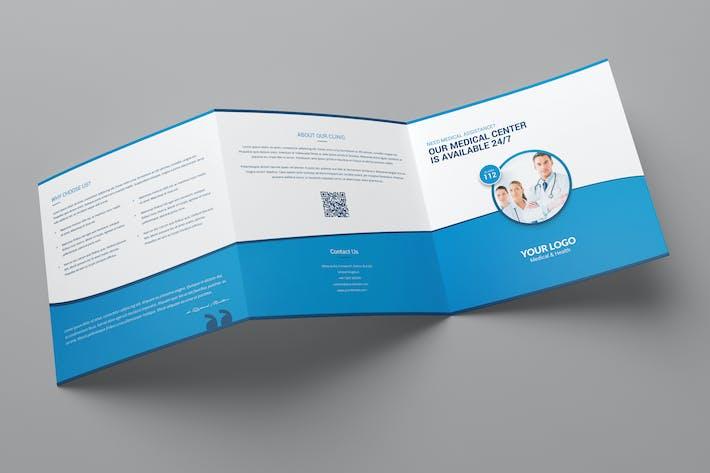 Thumbnail for Brochure – Medical Tri-Fold Square