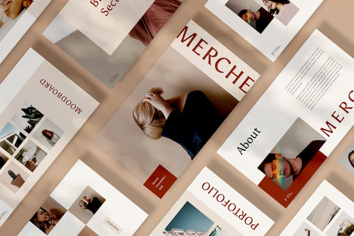 Cover Image For Merche Google Slides