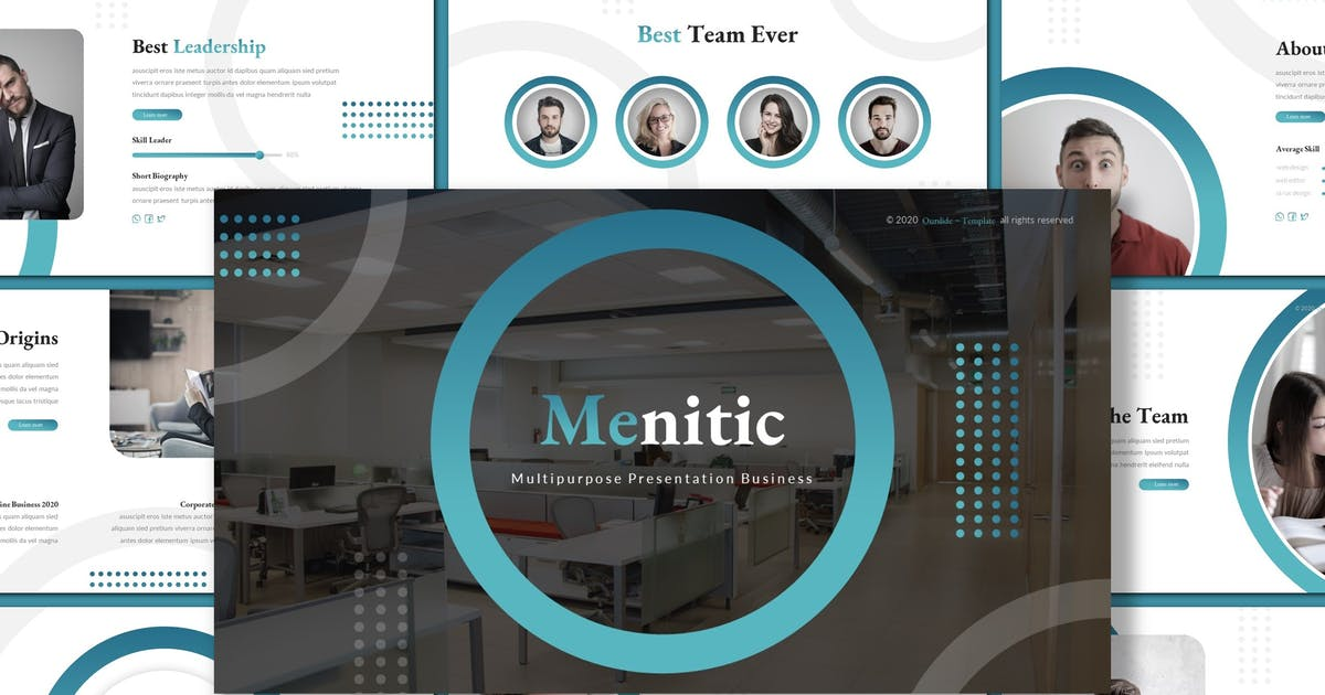 Download Menitic - Business Keynote Template by inspirasign