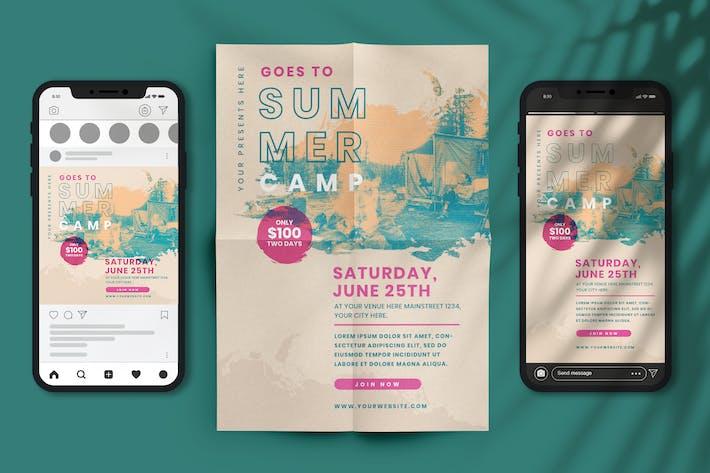 Thumbnail for Summer Camp Flyer & E-Flyer