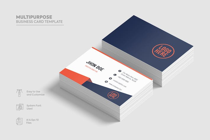 Thumbnail for Multipurpose Business Card template.05