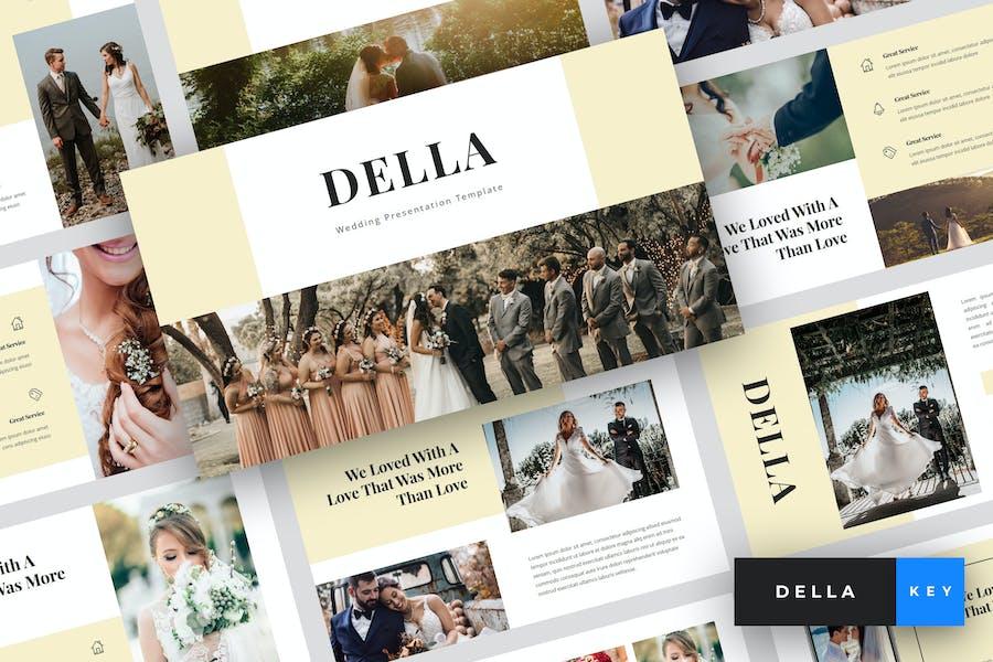 Della - Wedding Keynote Template