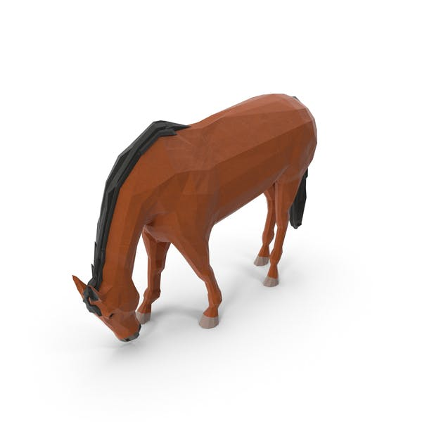 Thumbnail for Low Poly Horse