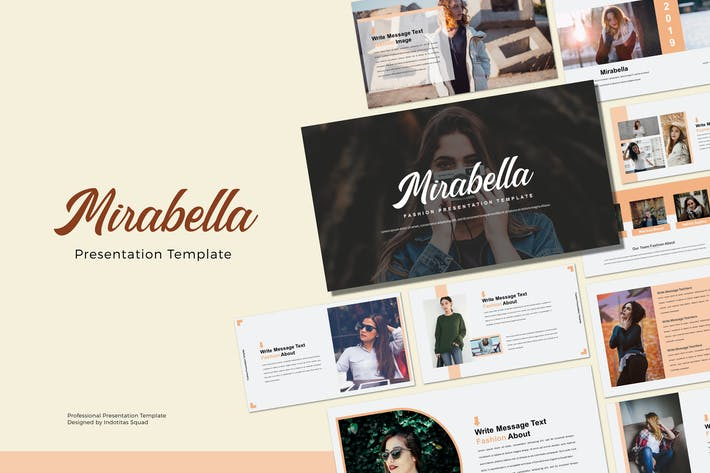 Thumbnail for MIRABELLA - Powerpoint-Vorlage