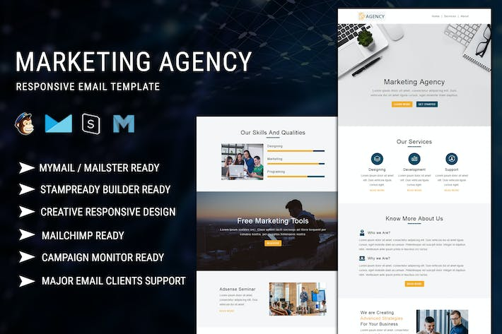 Marketing Agency - Responsive Email Template