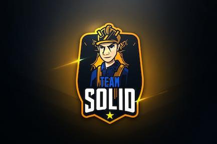 Team Solid - Талисман и Логотип Esport