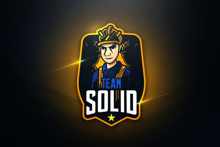 Thumbnail for Team Solid - Mascot & Esport Logo