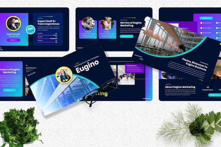 Eugino - Marketing Keynote Template